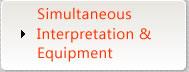Simultaneous Interpretation & Equipment